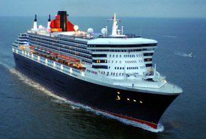 Arrivée du Queen Mary II