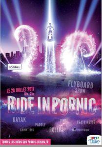 Ride in Pornic, Show de Flyboard